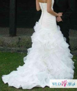Piekna sukienka slubna, jak nowa bez uszkodzen