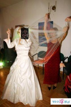 PIĘKNA sukienka ślubna- OKAZJA !!!!!!