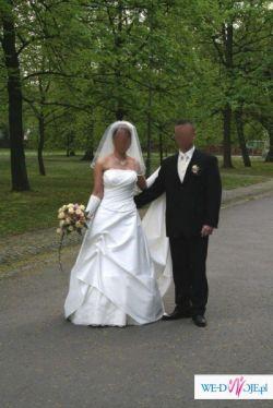 Piękną Sukienkę Ślubną