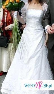 Piękna Suknia AGNES, TANIO plus bolerko