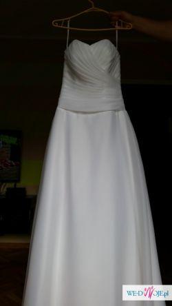 Piękna suknia Amera Vera + 2 welony + bolerko