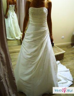 Piękna suknia DIAMANTE, niepowtarzalna...