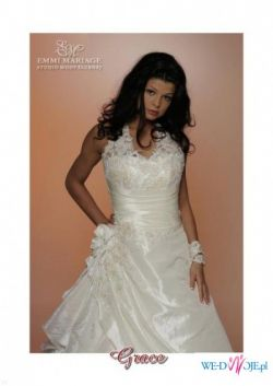 c165fb0bcb PIęKNA SUKNIA EMMI MARIAGE - GRACE 36 38 wzrost 158 + DODATKI ...