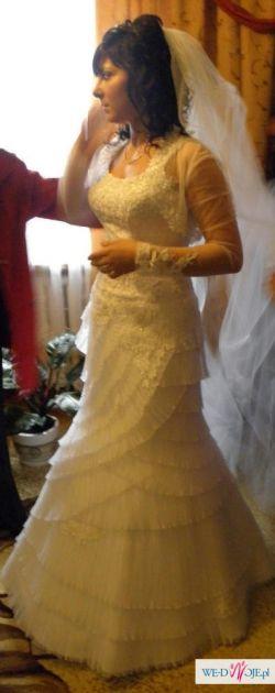 Piękna suknia Emmi Mariage r.36/38