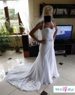 Piękna suknia Enzoani Dorothea z trenem!