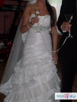 piękna suknia faro w stylu hiszpańskim