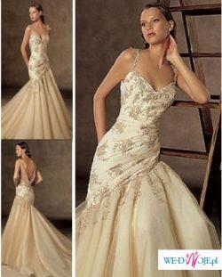 Piękna suknia firmy Herm's model KARIT