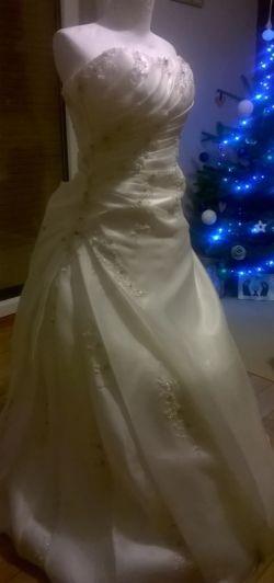 Piękna suknia ivory!