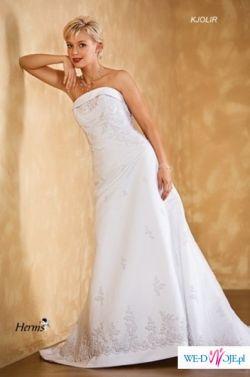piękna suknia Kjolir Herms rozmiar 38