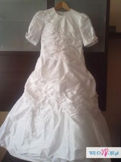 Piękna suknia komunijna- okazja!