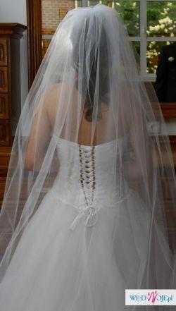 Piękna suknia księżniczka, baletnica rozm. 36