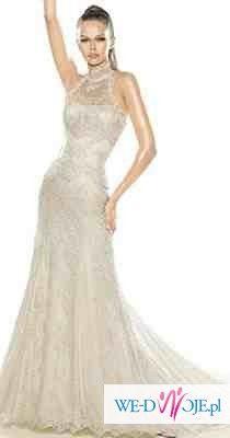 Piękna suknia La sposa model Santana + gratis