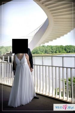 Piękna suknia Maggio Ramatti - stan idealny