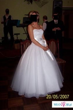 Piękna suknia Mori Lee