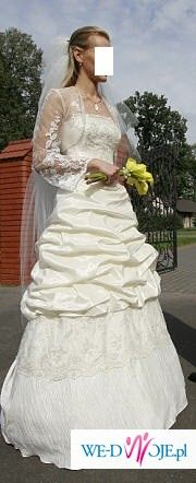 piekna suknia-OKAZJA!!!!!!