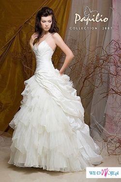 Piękna suknia Papilio 2w1!!!!Gratis halka i buty!!!!Jedyne 1000zł!!
