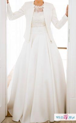 Piękna suknia projektu Violi Piekut. Polecam!!