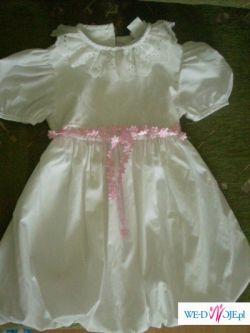 piekna suknia roz 122 c.12zł