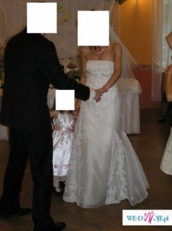 Piękna suknia SAN PATRICK BREMEN rozm. 38/40