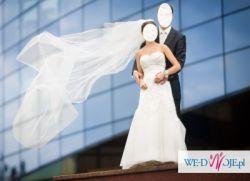 piękna suknia Sincerity Bridal model 3512 dla drobnej panny młodej