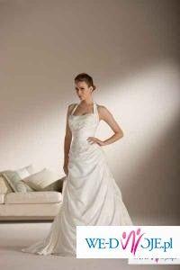 Piękna suknia ślubna 34-36