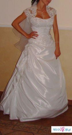 Piękna suknia ślubna 34-36, Cymbeline