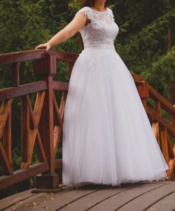 d4b77f8da6 Piękna suknia ślubna 36 38 - Suknie ślubne - Ogłoszenie - Komis ...