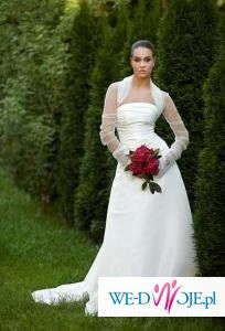 Piękna suknia ślubna 36/38, Anabel + Gratisy