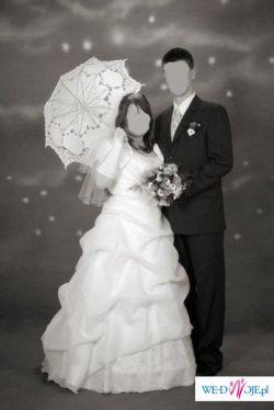 Piękna suknia ślubna 42/44/46 WARSZAWA