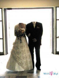 Piękna suknia ślubna !! 450 zł