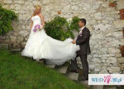 Piękna Suknia Ślubna 700zł