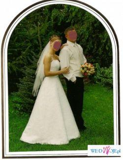 Piękna suknia ślubna!!!:)