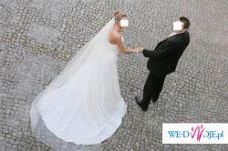 Piękna suknia ślubna!