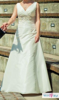 Piękna suknia ślubna Agnes 10679