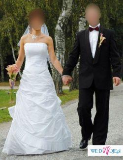 Piękna suknia ślubna Agnes z kolekcji na 2007 rok! rozmiar 36
