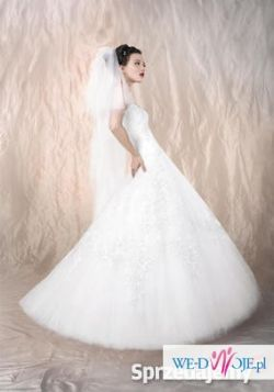 Piękna suknia ślubna Agora 11-42