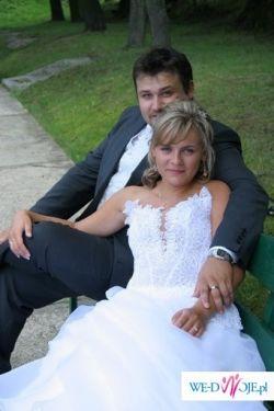 Piękna suknia ślubna Agora 27-15