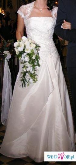 Piękna suknia ślubna Allure Bridals UK-17 OKAZJA