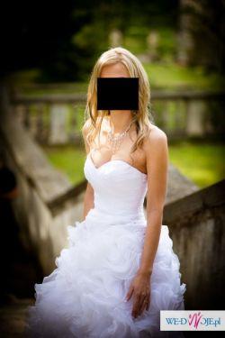 PIĘKNA SUKNIA ŚLUBNA Annais Bridal - Sentence- Kolekcja Love 2012