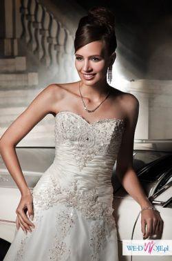 Piękna suknia ślubna ANNAIS BRIDAL VIENNA