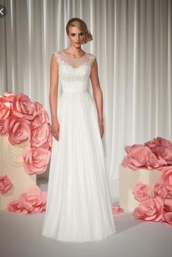 Piękna suknia ślubna- Annais Elviretta+ Bolerko