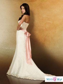 Piękna suknia ślubna Aspera Celeste.Możliwość przymiarki w salonie w Poznaniu