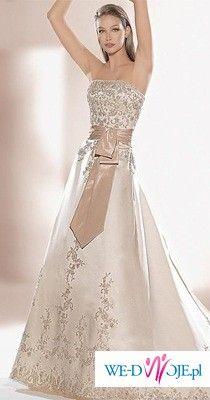 Piękna Suknia Ślubna Atelier Diagonal