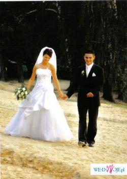 Piękna suknia ślubna - atrakcyjna cena :)