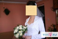 Piękna suknia ślubna- biała !!!