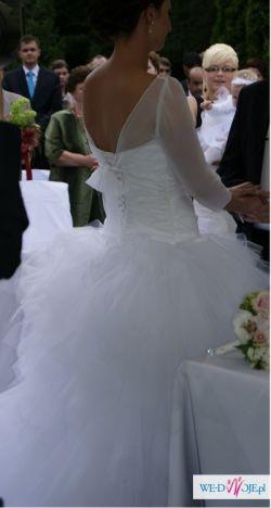 Piękna suknia ślubna- CYMBELINE FAUVETTE