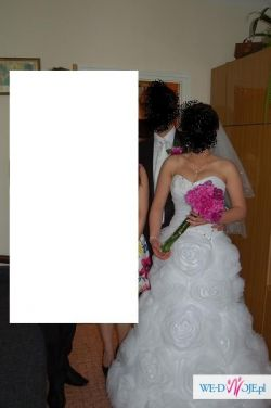 Piękna suknia ślubna  czerwiec 2013