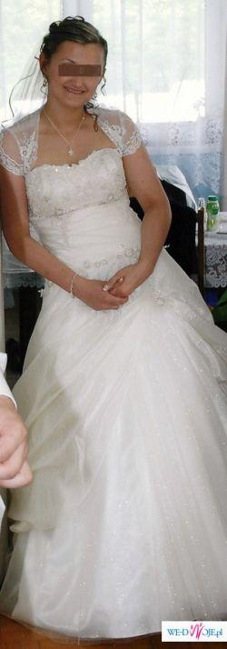 Piękna suknia ślubna - DALIA firmy Antra