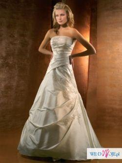 Piękna suknia ślubna Demetrios