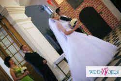 Piękna suknia ślubna Demetrios 960